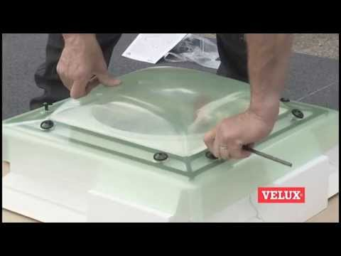 Flat Roof Window Installation How To Install A Velux
