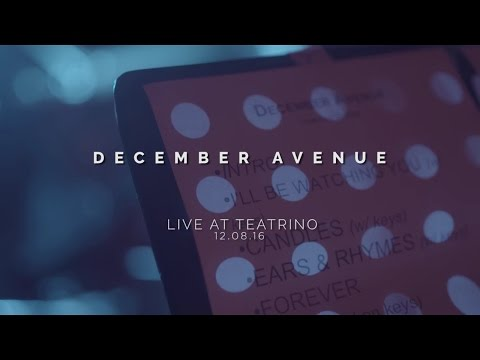 FALLIN' - DECEMBER AVENUE feat. CLARA BENIN (Live at Teatrino)
