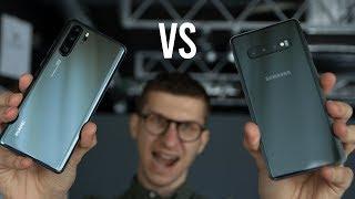 Samsung Galaxy S10+ vs Huawei P30 Pro (review română)