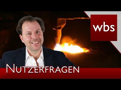 Nutzerfragen: Geld einschmelzen | Rechtsanwalt Christian Solmecke