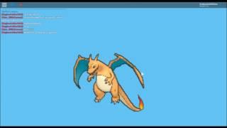 Roblox | Pokemon Brick Bronze | getting mega charizard X