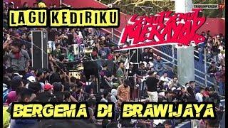 """Lagu """"KEDIRIKU"""" Semut Semut Merayap bergelora di Stadion Brawijaya Kediri PERSIK VS PERSATU"""