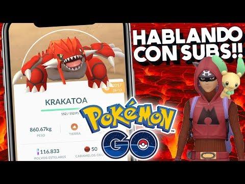 HABLANDO CON SUBS!! | 1025 | POKEMON GO thumbnail