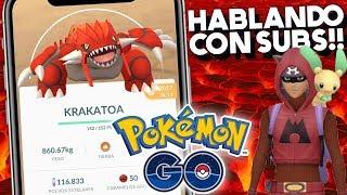 HABLANDO CON SUBS!! | 1025 | POKEMON GO
