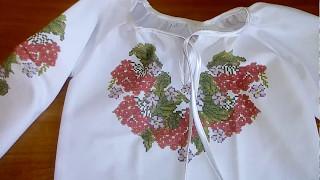 Обзор пошитой детской блузки Реглан