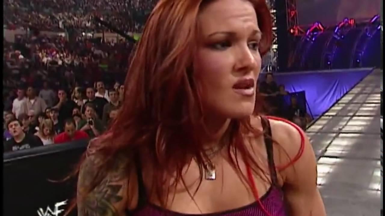 Trish Stratus Gets To Kiss Matt Hardy Much To Lita's ... Trish Stratus And Jeff Hardy 03.24.2003