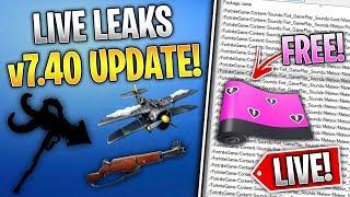 Réagir à Fortnite v7.40 Fuites (Skins, Emotes, Secrets, Leaks et PLUS!)