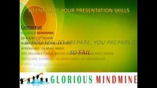 Presentation Skills - Presentation Tips - GLORIOUS MINDMINE.wmv