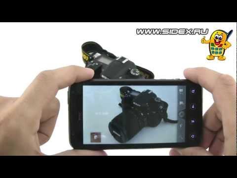 Sidex.ru: Видеообзор 3D смартфона HTC Evo 3D