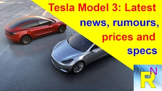 Car Review - Tesla Model 3: Latest News, Rumours, Prices And Specs - Read Newspaper Tv