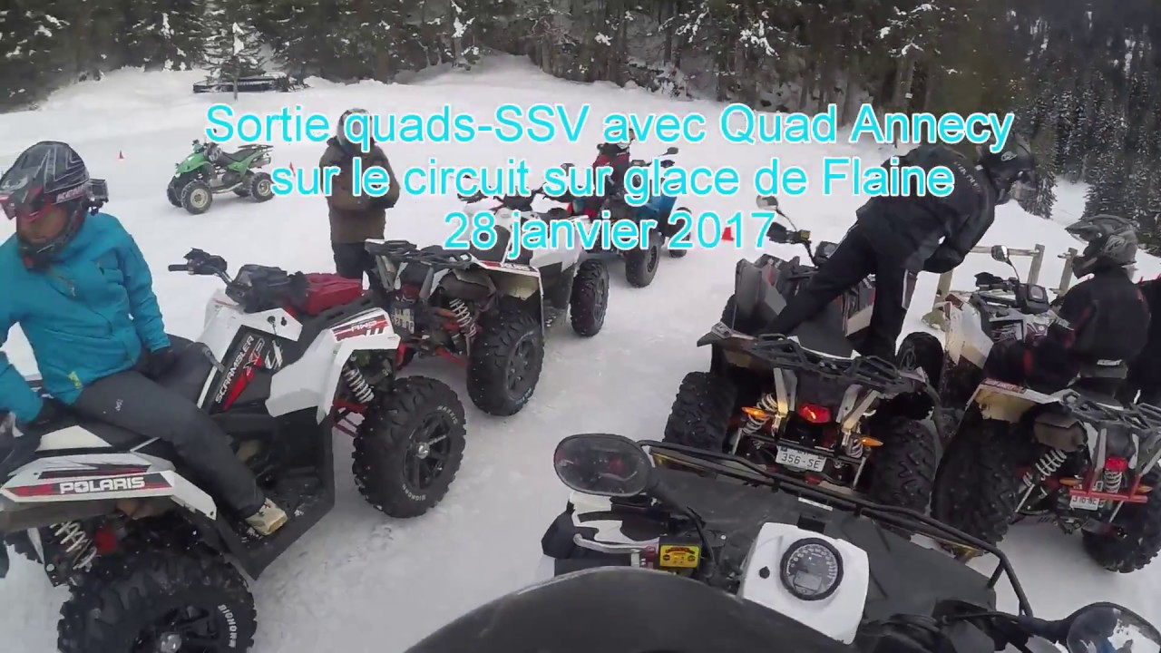 sortie avec quad annecy au circuit sur glace de flaine youtube. Black Bedroom Furniture Sets. Home Design Ideas