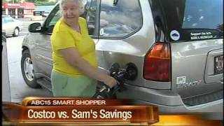 Costco vs Sam's Club: Gas and membership