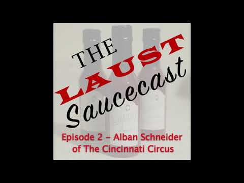 The Laust Saucecast: Episode 2 - Alban The Wizard