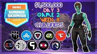 $1,500,000 🥊Pax West Summer Skirmish🥊 Day 3/Game 2 Feat. TSM_Daequan SypherPK Strafeshot (Fortnite)