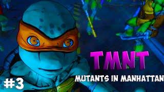 Черепашки-Ниндзя: Мутанты в Манхэттене. Прохождение #3 (TMNT: Mutants in Manhattan Gameplay 2016)