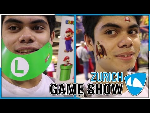 Zurich Game Show 2018 Vlog (Freitag)