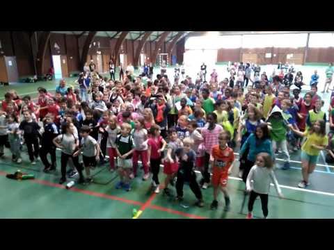 Chorégraphie Mondialito - CA Evron Handball - 15/06/2016