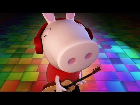 peppa pig in 3D peppa play guitar Bing Bong Song