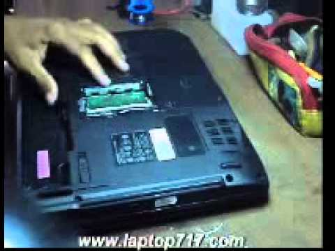 cara bongkar n pasang DVD rom Acer emachines