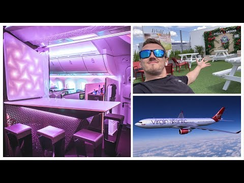 The First Class Experience! (Bar On Plane)