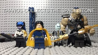 LEGO AVENGERS INFINITY WAR THANOS COLLECTS THE SPACE STONE