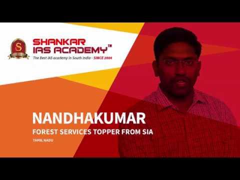 Nandhakumar - IFoS rank holder motivational success story