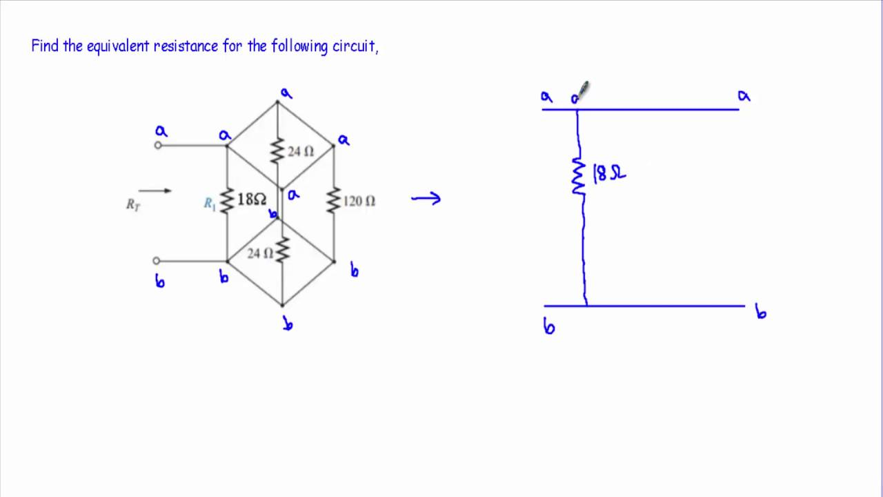 parallel circuit practice problems youtube rh youtube com Series Parallel Circuit Tutorial Combination of a Series and Parallel Circuit Example