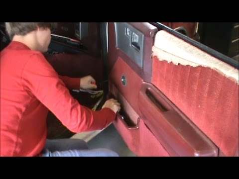1991 S10 Passenger Side Door Panel Removel Youtube