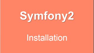 Episode 2  :comment Installer Symfony2  -Darija  - Cour-Sup