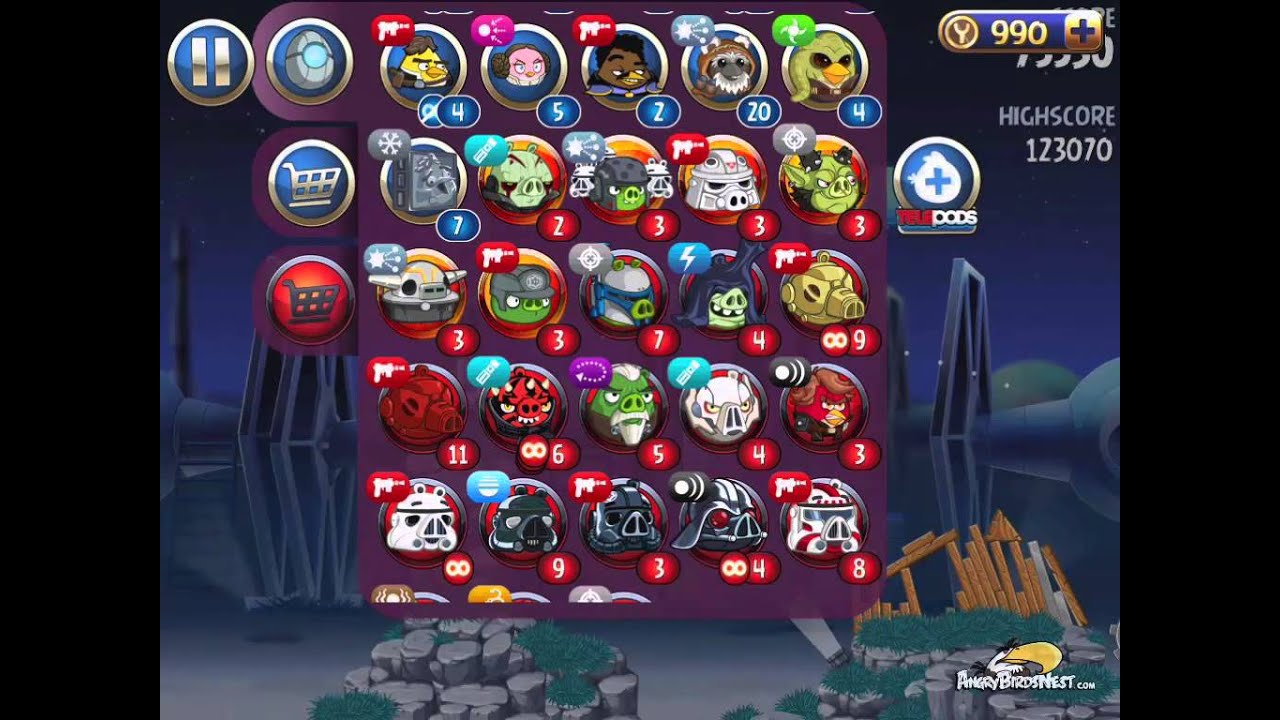Angry Birds Star Wars 2 Level BM-18 Master Your Destiny 3