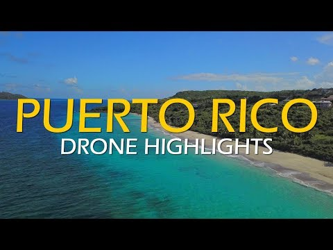 Puerto Rico in 4k - (Drone Highlights)