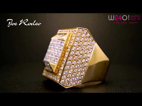 Exclusive Joe Rodeo Men's Diamond Ring Collection - Video Mix