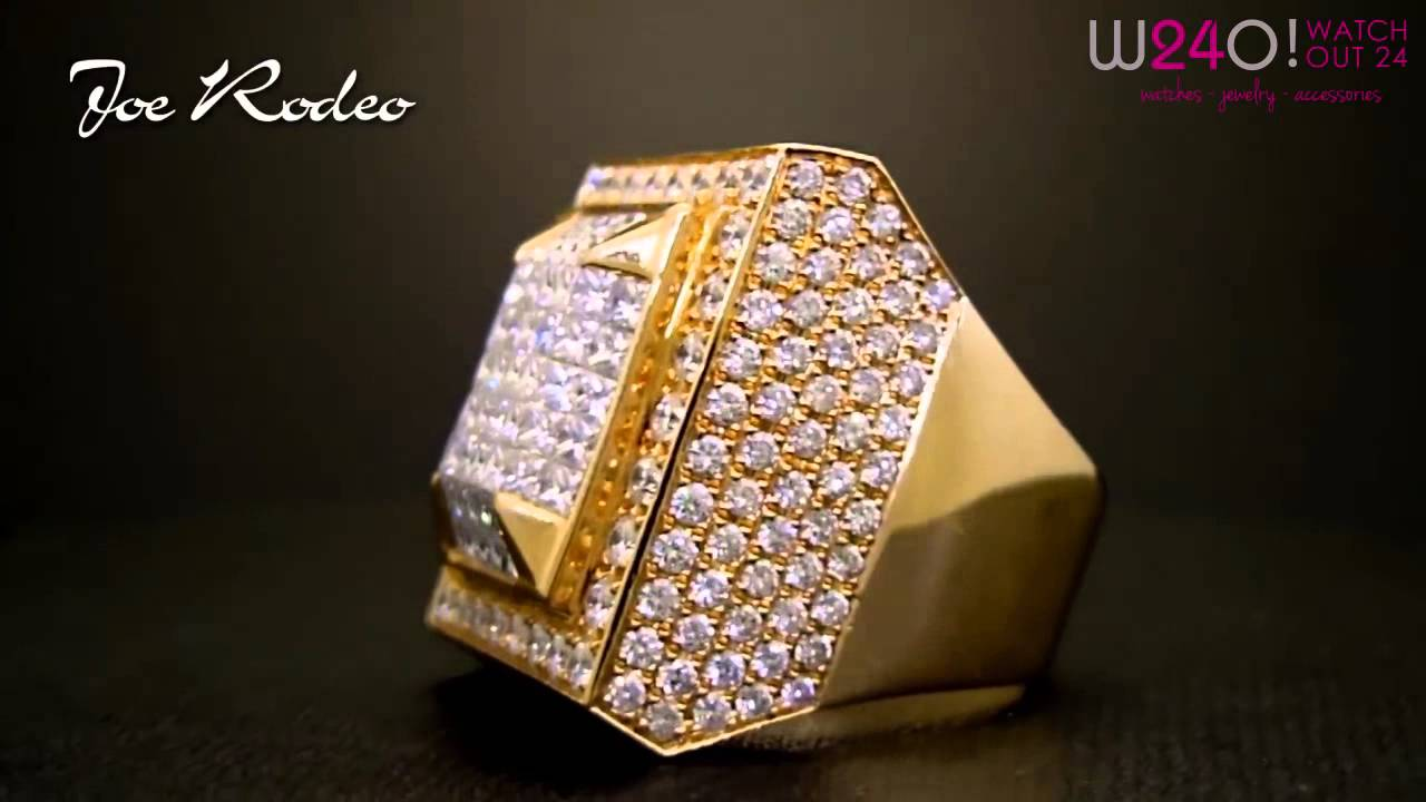 Exclusive Joe Rodeo Men\'s Diamond Ring Collection - Video Mix ...