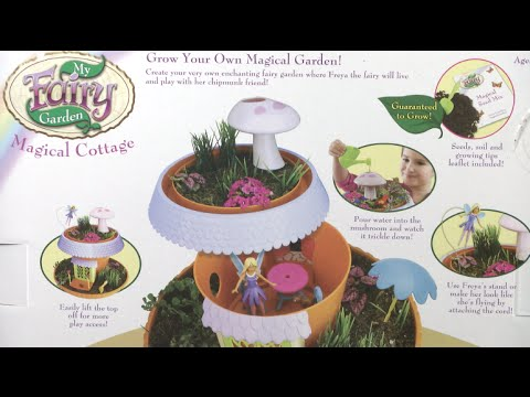 My Fairy Garden Magical Cottage From Playmonster Youtube