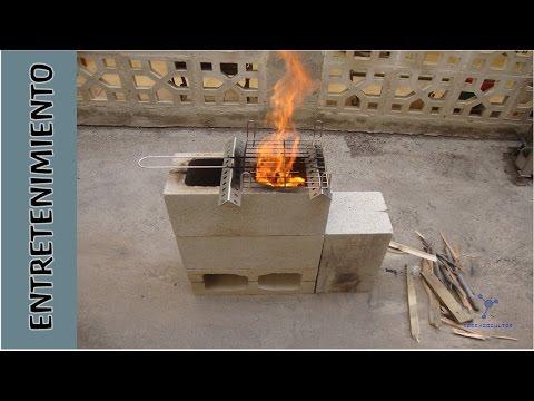 Como hacer la estufa mas barata del mundo how to make diy - Cocina rustica barata ...