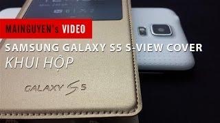 khui hop samsung galaxy s5 s-view cover - wwwmainguyenvn