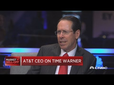 AT&T CEO: Sounds like court hearing on deal with Time Warner went well