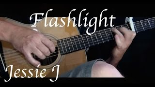 Kelly Valleau - Flashlight (Jessie J) - Fingerstyle Guitar