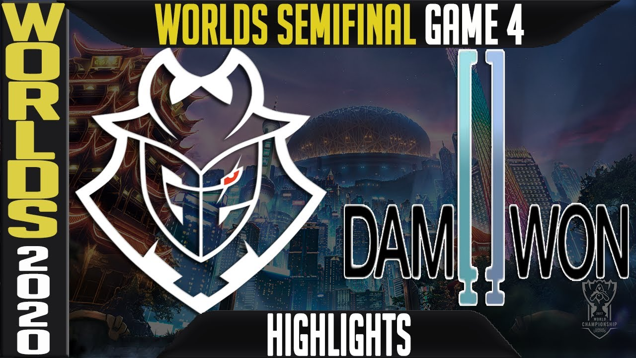 G2 vs DWG Highlights Game 4 | Semifinals Worlds 2020 Playoffs | G2 Esports vs Damwon Gaming G4