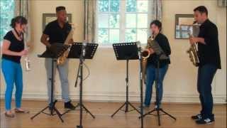 The Lone Arranger Goes Sax Mad! - saxophone quartet sheet music