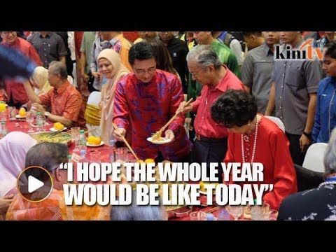 Dr Mahathir's hope for the new year