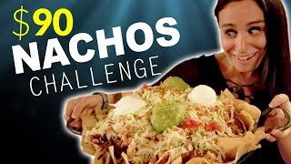 $90 SECRET NACHOS CHALLENGE