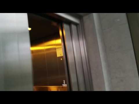BRAND NEW! schindler elevators at coop shoping centre bassersdorf zurich switzerland