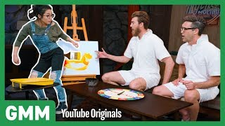 Twister Pictionary ft. Anna Akana