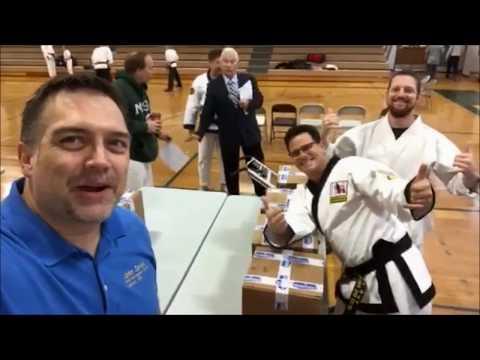 USBA/WBA Team World Record- Michael Mannino and Seth Britton- 114 one inch boards in 10 sec- 11/2017