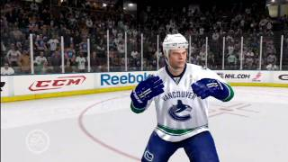 NHL 10 - Gameplay video
