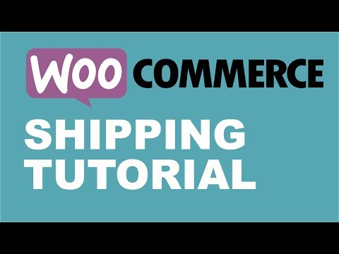 WooCommerce - How to Setup Shipping Charges in Woocommerce 2017 - Shipping Methods