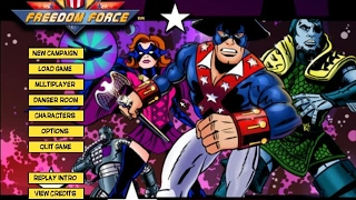 Freedom Force gameplay (PC Game, 2002)