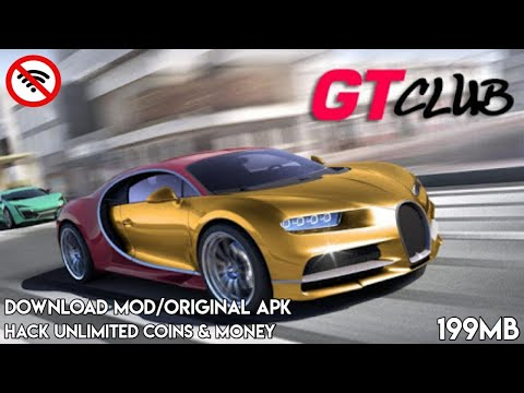 Download Gt Speed Club Mod Apk Unlimited Coins & Money Hanya 199MB Offline HD Graphics
