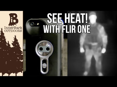 See Infrared with an iPhone? FLIR One